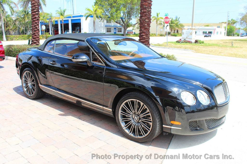2010 Bentley Continental GT 2010 Bentley Continental GTC Convertible Speed only 25,442 miles - 17486050 - 21