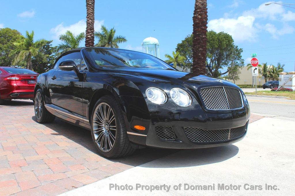 2010 Bentley Continental GT 2010 Bentley Continental GTC Convertible Speed only 25,442 miles - 17486050 - 23