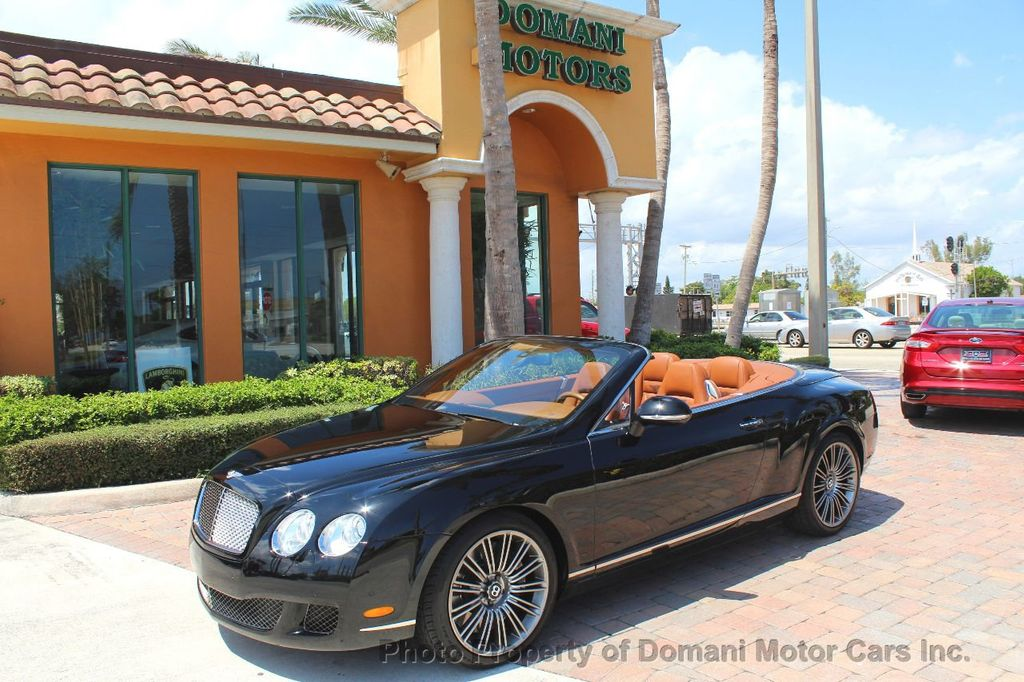 2010 Bentley Continental GT 2010 Bentley Continental GTC Convertible Speed only 25,442 miles - 17486050 - 2