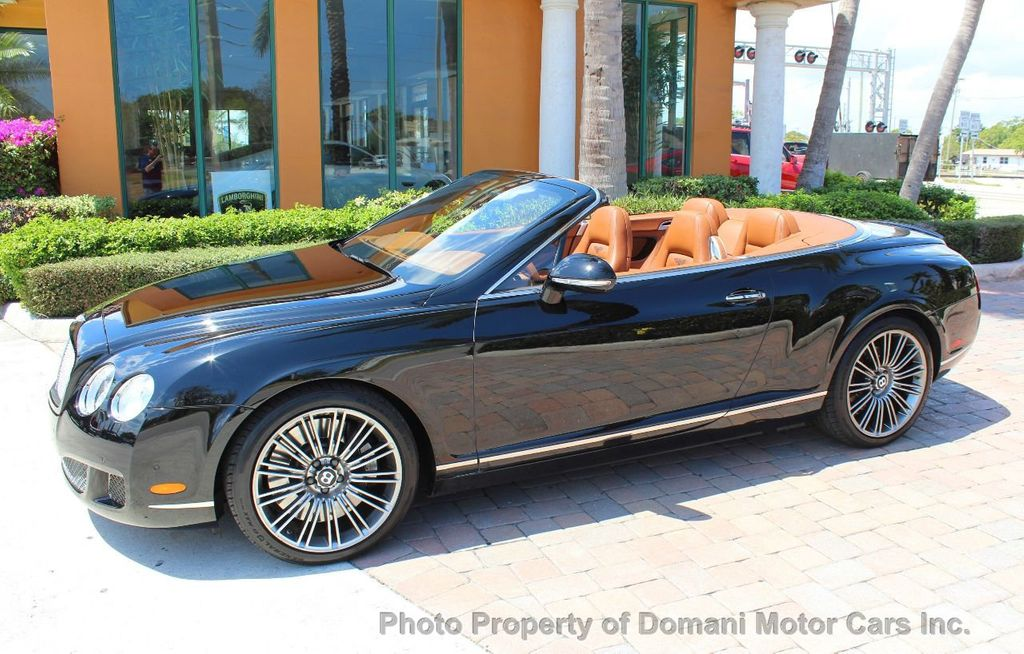 2010 Bentley Continental GT 2010 Bentley Continental GTC Convertible Speed only 25,442 miles - 17486050 - 5