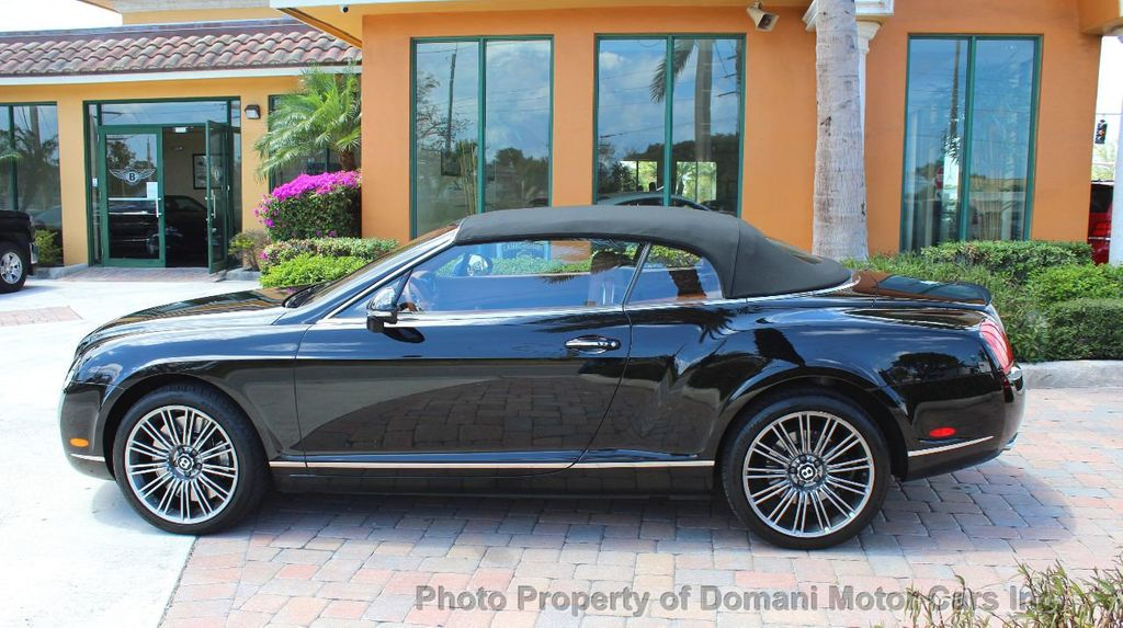 2010 Bentley Continental GT 2010 Bentley Continental GTC Convertible Speed only 25,442 miles - 17486050 - 6