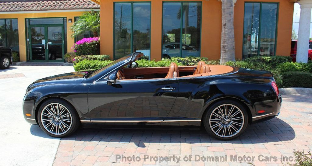 2010 Bentley Continental GT 2010 Bentley Continental GTC Convertible Speed only 25,442 miles - 17486050 - 7