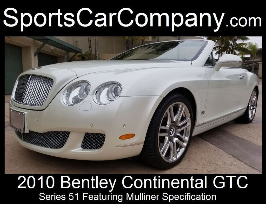 2010 Bentley Continental GTC Continental GTC Series 51 - 17737680 - 1