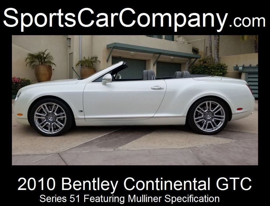 2010 Bentley Continental GTC Continental GTC Series 51 - 17737680 - 2