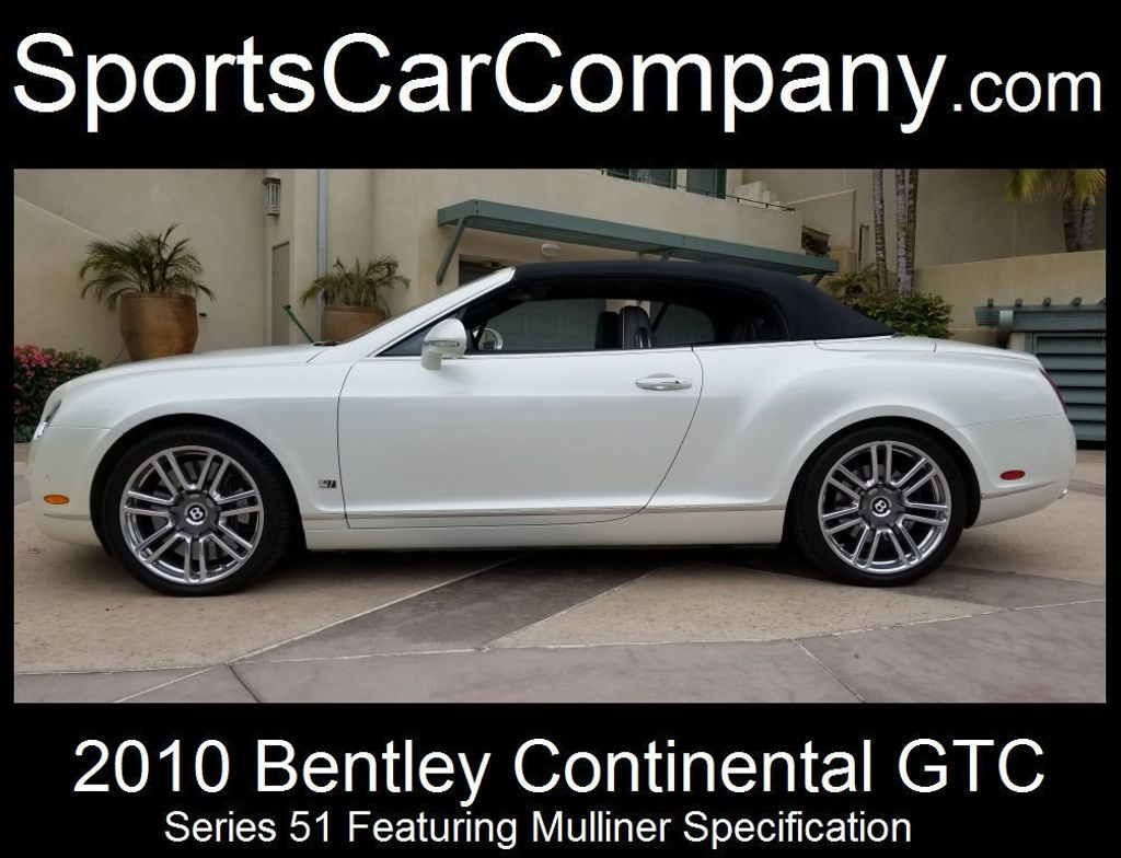 2010 Bentley Continental GTC Continental GTC Series 51 - 17737680 - 3