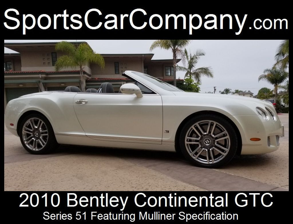 2010 Bentley Continental GTC Continental GTC Series 51 - 17737680 - 4