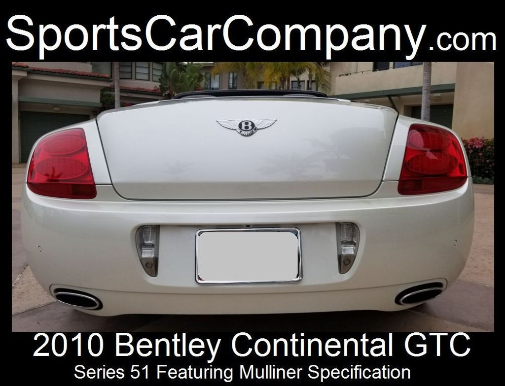 2010 Bentley Continental GTC Continental GTC Series 51 - 17737680 - 7