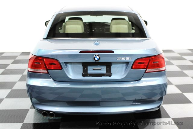 2010 BMW 3 Series CERTIFIED 328i CONVERTIBLE NAVIGATION - 16260345 - 17