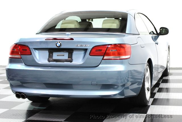 2010 BMW 3 Series CERTIFIED 328i CONVERTIBLE NAVIGATION - 16260345 - 18