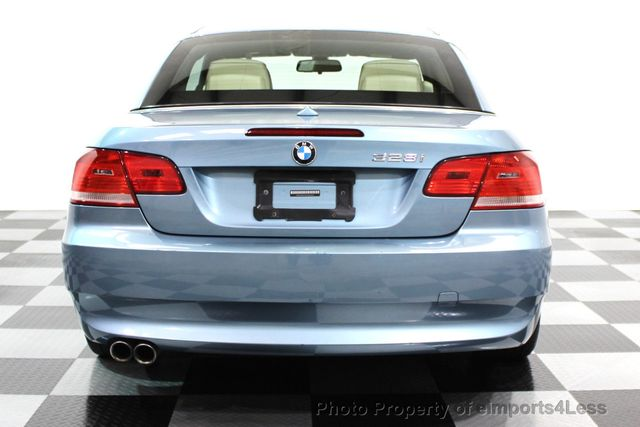2010 BMW 3 Series CERTIFIED 328i CONVERTIBLE NAVIGATION - 16260345 - 27