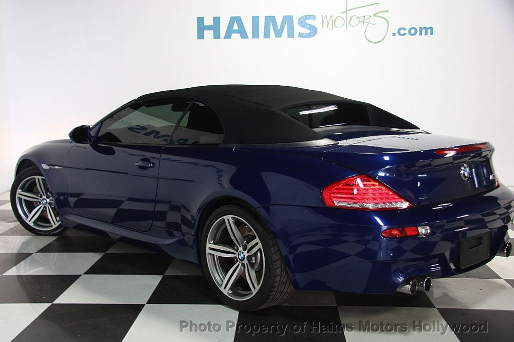 Dr Miami Financing >> 2010 Used BMW M6 2dr Convertible at Haims Motors Serving Fort Lauderdale, Hollywood, Miami, FL ...