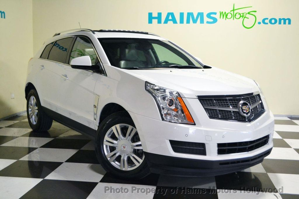 2010 used cadillac srx fwd 4dr luxury collection at haims motors serving fort lauderdale. Black Bedroom Furniture Sets. Home Design Ideas