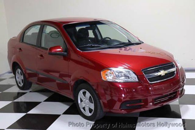 2010 Used Chevrolet Aveo 4dr Sdn Ls At Haims Motors Serving Fort