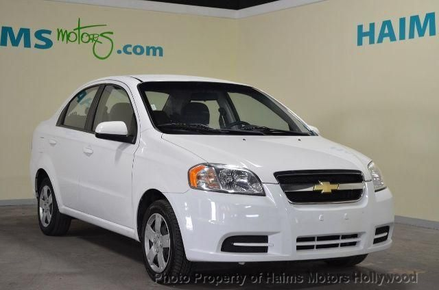 2010 Used Chevrolet Aveo 4dr Sdn Lt W1lt At Haims Motors Serving