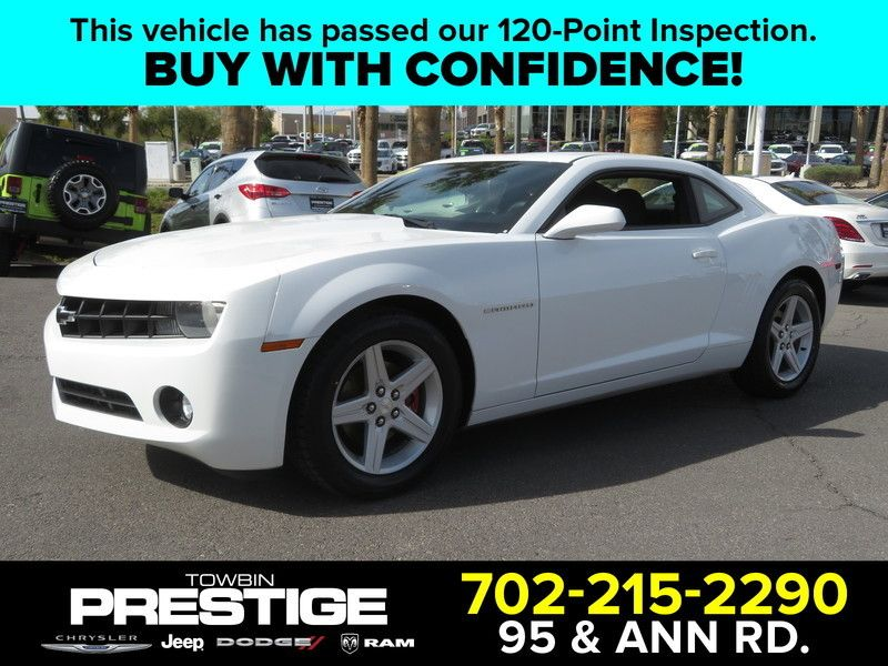 2010 Chevrolet Camaro 2dr Coupe 1LT - 17533505 - 0