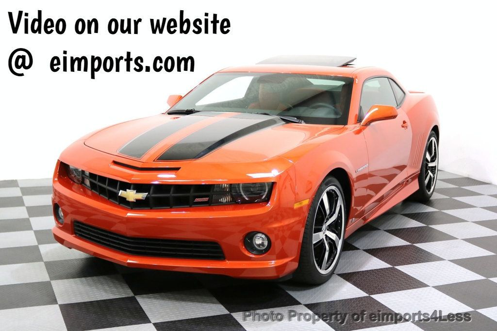 2010 Chevrolet Camaro CERTIFIED CAMARO 2SS RS SUNROOF BODY KIT - 17784946 - 0