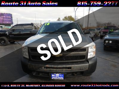 "2010 Chevrolet Silverado 1500 4WD Crew Cab 143.5"" LS - Click to see full-size photo viewer"