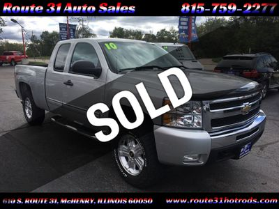 2010 Chevrolet Silverado 1500 Z-71 4X4 - Click to see full-size photo viewer