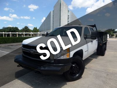 "2010 Chevrolet Silverado 3500HD 4WD Crew Cab 167"" DRW Work Truck - Click to see full-size photo viewer"