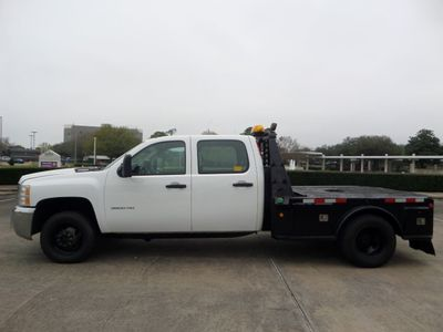 2010 Chevrolet Silverado 3500HD Diesel 6.6L V8 4WD Crew Cab Work Truck - Click to see full-size photo viewer