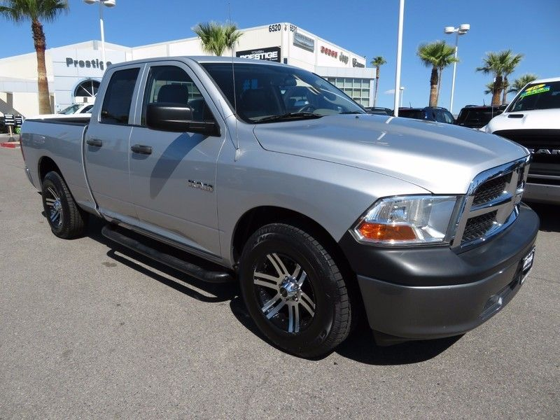 2010 used dodge ram 1500 2wd quad cab 140 5 st at king of cars towbin dodge nv iid 16862615. Black Bedroom Furniture Sets. Home Design Ideas