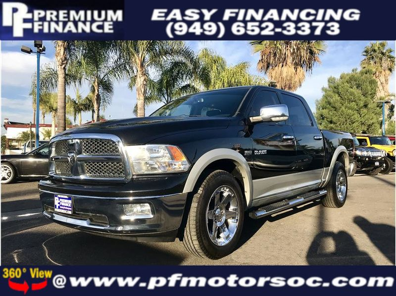 2010 Dodge Ram 1500 Crew Cab LARAMIE 5.7L HEMI 4X4 LEATHER NAV SUPER CLEAN - 18452065