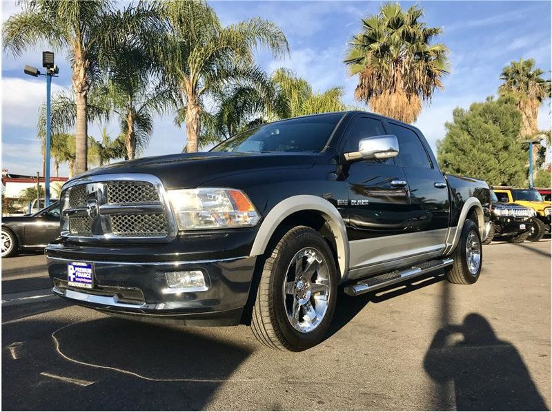 2010 Dodge Ram 1500 Crew Cab LARAMIE 5.7L HEMI 4X4 LEATHER NAV SUPER CLEAN - 18452065 - 2