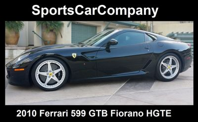 2010 Ferrari 599 GTB Fiorano HGTE 599 GTB Fiorano HGTE - Click to see full-size photo viewer