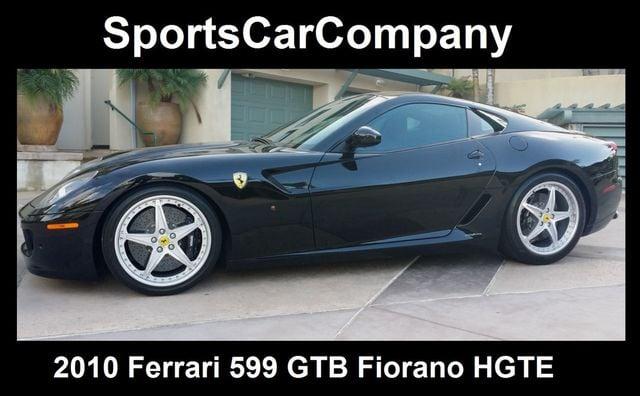 2010 Ferrari 599 Gtb Fiorano Hgte Coupe For Sale La Jolla Ca