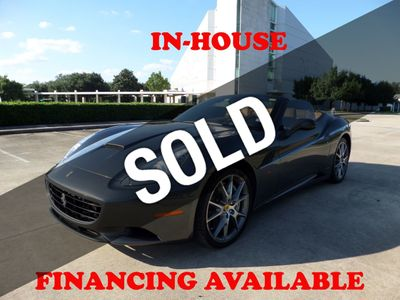 2010 Ferrari California 2010 Ferrari California 2DR Convertible, 12k miles, Extra Clean!