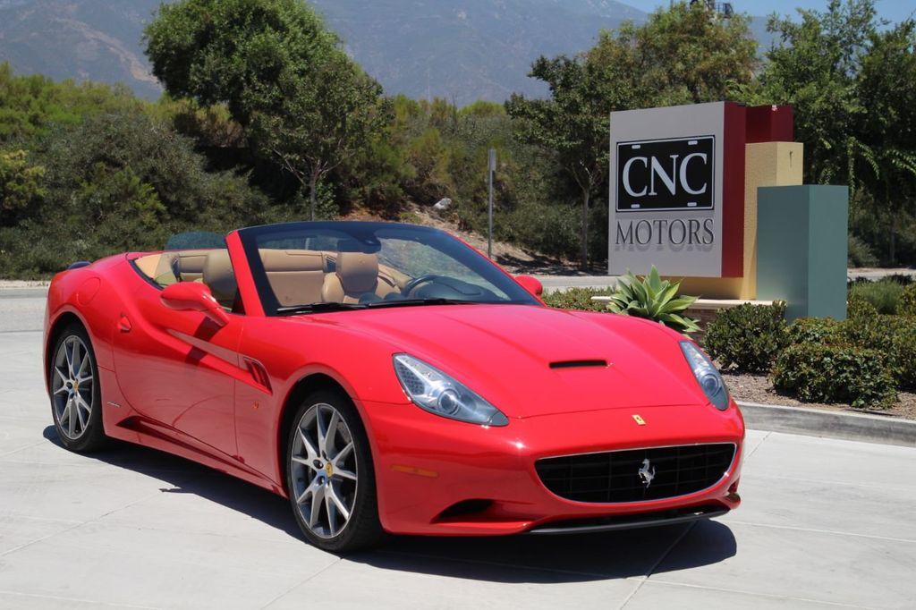 2010 Used Ferrari California 2dr Convertible At Cnc Motors Inc Serving Upland Ca Iid 20142464