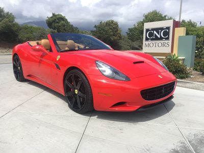 Used Ferrari California Upland Ca