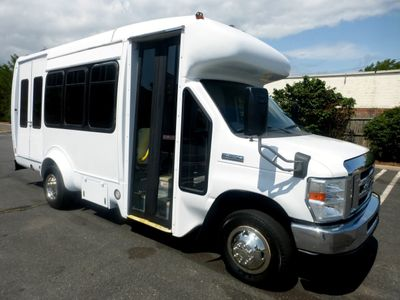 2010 Ford E350 Non-CDL Startrans Wheelchair Shuttle Bus