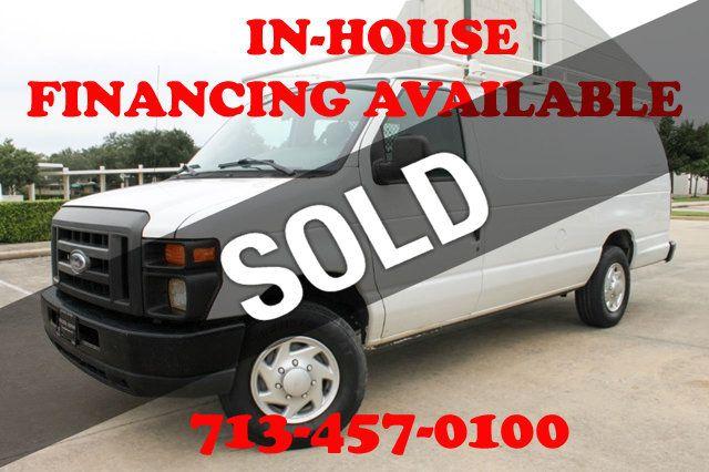 Ford Cargo Vans >> 2010 Ford Econoline Cargo Van E 350 Super Duty Ext Commercial Van For Sale Houston Tx 14 580 Motorcar Com