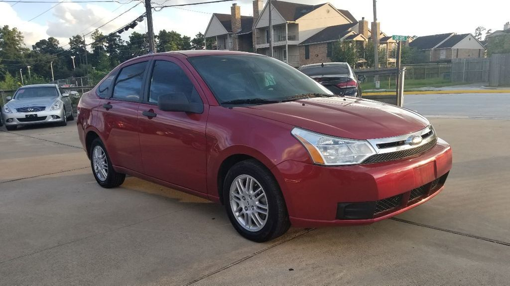 2010 Used Ford Focus 4dr Sedan Se At Car Guys Serving Houston Tx