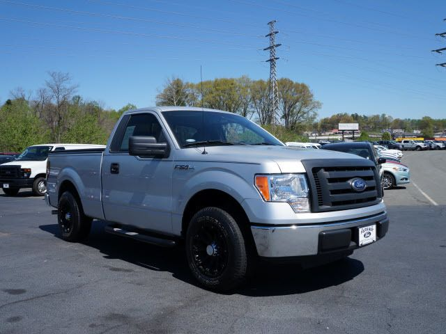 2010 used ford f 150 2wd reg cab 126 xl at capital ford rocky mount nc iid 11951635. Black Bedroom Furniture Sets. Home Design Ideas