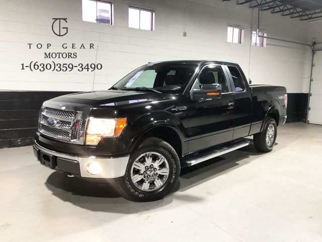 2010 Ford F 150 4wd Supercab 145 Lariat Truck Extended Cab Standard Bed For Sale Addison Il 13 945 Motorcar Com