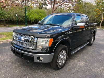 "2010 Ford F-150 4WD SuperCrew 145"" Lariat Truck"