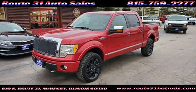 "2010 Ford F-150 4WD SuperCrew 145"" Platinum Truck"