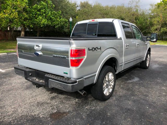 "2010 Ford F-150 4WD SuperCrew 145"" Platinum - Click to see full-size photo viewer"