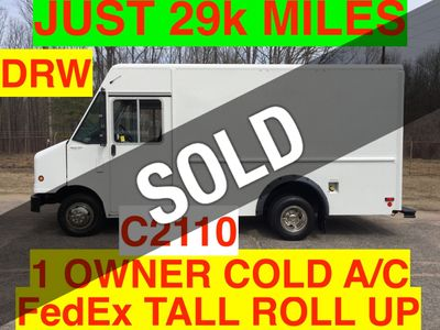2010 Ford STEP VAN JUST 29k MILES!! ONE OWNER!! DRW HARD TO FIND WITH A/C!! SUPER CLEAN!!