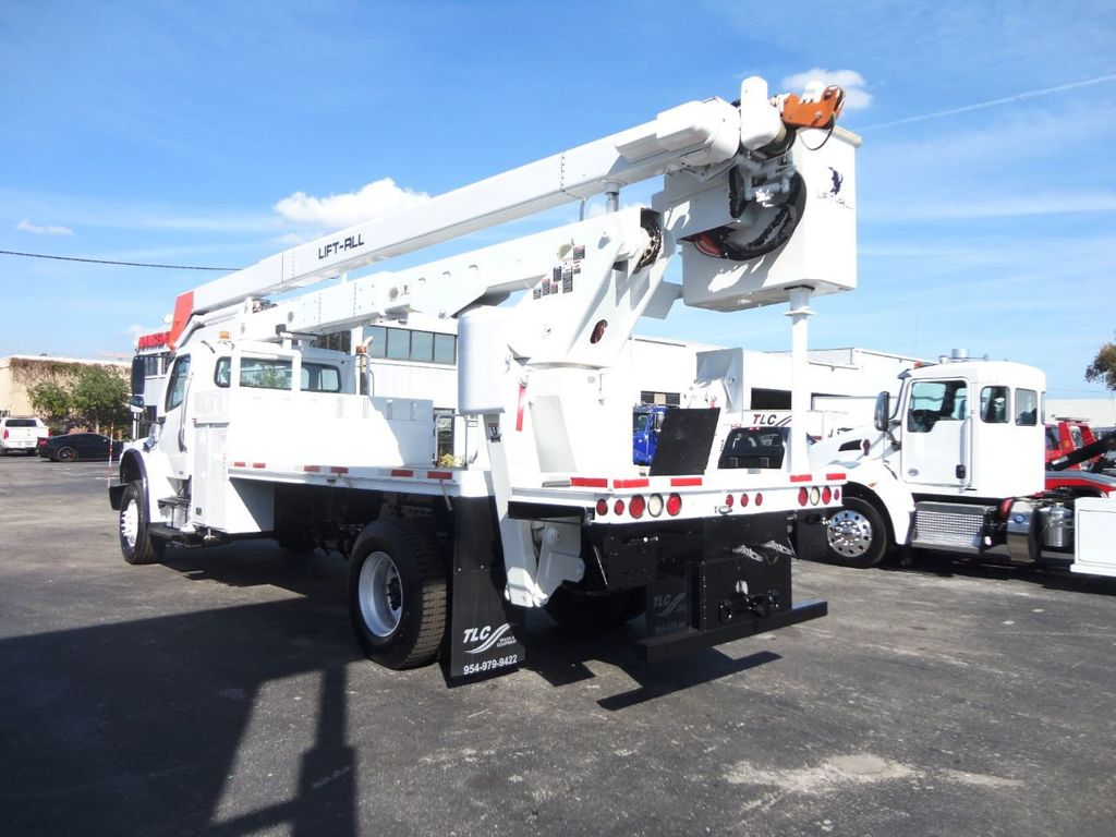2010 Used Freightliner BUSINESS CLASS M2 106 4X4   70FT BOOM BUCKET TRUCK    Lift-All LM-70-2MS at Tri Leasing Corp Serving Pompano Beach, FL, IID