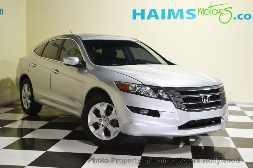 2010 used honda accord crosstour 2wd 5dr ex l at haims motors serving fort lauderdale hollywood. Black Bedroom Furniture Sets. Home Design Ideas