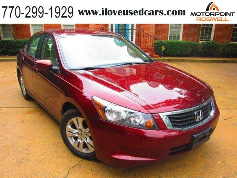 2010 Used Honda Accord Sedan 4dr I4 Automatic LX at Motorpoint Roswell, GA,  IID 18448889
