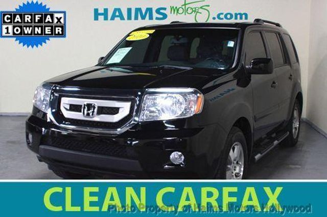 2010 used honda pilot ex l at haims motors serving fort for Used honda pilot 2010