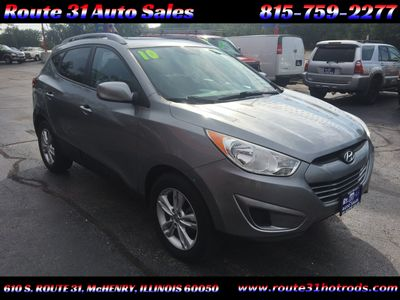 2010 Hyundai Tucson GLS-FWD - Click to see full-size photo viewer