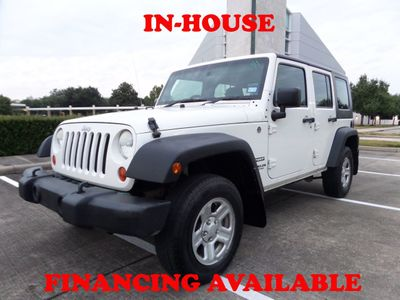2010 Jeep Wrangler Unlimited 2010 Jeep Wrangler RHD, 4dr, 2-Owner, Clean Title, Keyless Entry SUV