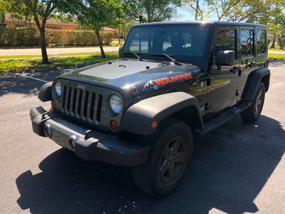 2010 Jeep Wrangler Unlimited 4WD 4dr Mountain SUV