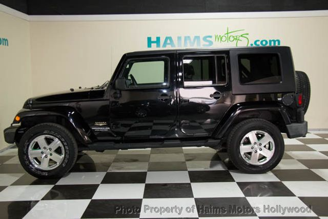 2010 Used Jeep Wrangler Unlimited Rwd 4dr Sahara At Haims Motors Ft Lauderdale Serving