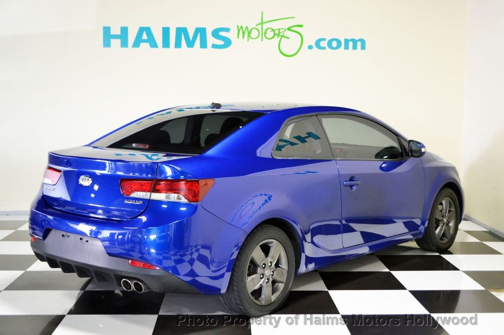 2010 used kia forte koup 2dr coupe automatic ex at haims motors serving fort lauderdale for 2010 kia forte koup interior